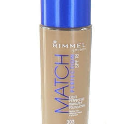 Rimmel Match Perfection Light Foundation  SPF18-303 True Nude