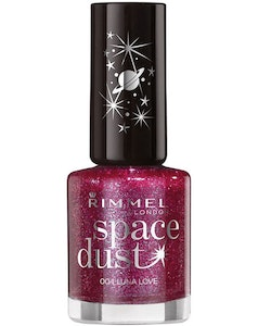 Rimmel Space Dust High-Glitter Nagellack - Luna Love