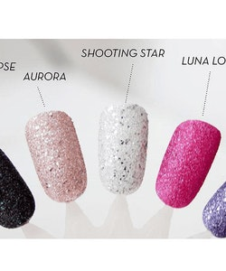 Rimmel Space Dust High-Glitter Nail Polish - Aurora