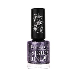 Rimmel Space Dust High-Glitter Nail Polish - Moon Walking
