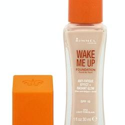 Rimmel Wake Me Up SPF15 Anti-Fatigue Foundation - 010 Light Porcelain