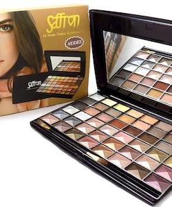 Saffron 48 Nude Shades Pearl Eyeshadows Palette