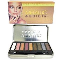 Saffron Addicts Metallic Eyeshadow Palette