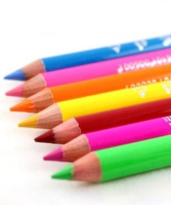 Saffron London NEON  2 in 1 Eyeliner Eye&Lip Liner Pencil - Neon Yellow