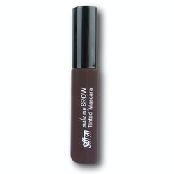 Saffron Make My Brow Tinted Mascara - Dark Brown