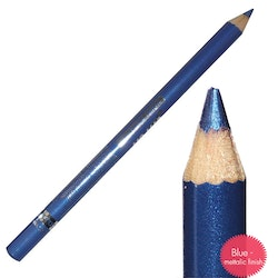 Saffron Metallic Waterproof Eyeliner - Metallic Blue