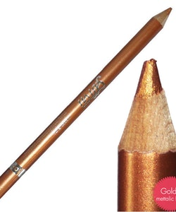 Saffron Metallic Waterproof Eyeliner - Metallic Gold
