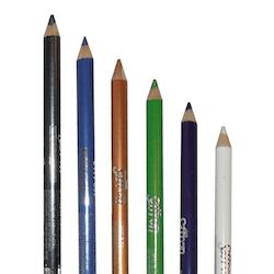 Saffron Metallic Waterproof Eyeliner - Metallic White