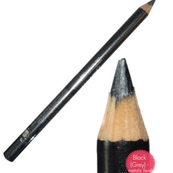 Saffron Metallic Waterproof Eyeliner - Metallic Grey-Black