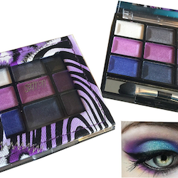 Saffron Animal Pearl Eyeshadow Palette-Purple Eye