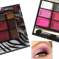 SaffronAnimalPearl Eyeshadow Palette-Sebra Eye