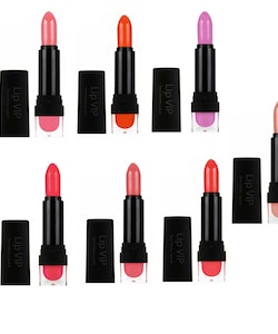 Sleek VIP SEMI-MATTE Lipstick - Flaunt It 1008