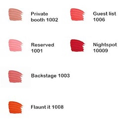 Sleek VIP Semi-Matte Lipstick -Private Booth 1002