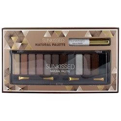 Sunkissed Natural Eye Shadow Palette-Smokey eyes