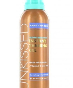 Sunkissed Water Resistant Instant Tanning Gel-Cool Skin Tone