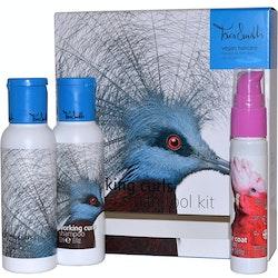 Tara Smith Working Curls Vegan HaircareTool Kit-Shampoo,Conditioner & Serum