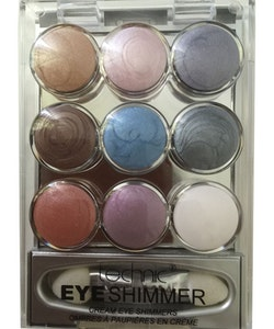 Technic 9 Pot Cream Eye Shimmer Eye Shadow & mirror - Set 2