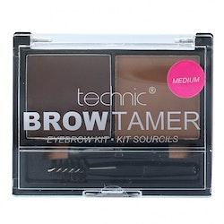 Technic Brow Tamer Eyebrow Kit *Medium* - Brush+Wax+Powder