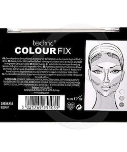 Technic Colour Fix Cream Foundation Contour Large Palette