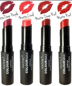 Technic ColourMax Matte Finish Lipstick-Matte Coral