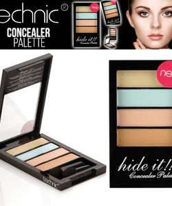 Technic CREME Concealer Palette - Hide Dark Circle Blemishes