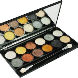 Technic Electric Beauty METALIX EyeShadow Palette for Smokey Eye