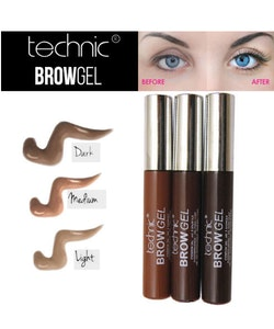 Technic Eye Brow Gel Shaping Mascara- Medium Brown