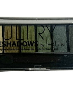 Technic Glittrande Sultry Eyeshadow Kit - Moss