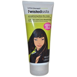 Urban Therapy Twisted Sista Blow Drying Creme Serum-Contains Arganoil&Lychee