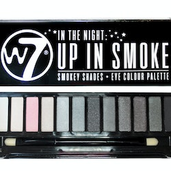 W7 'In The Night' Up In Smoke Eyeshadow Colour Palette