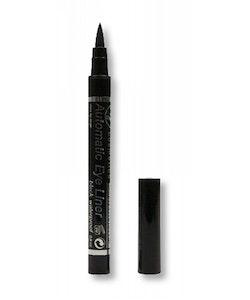 W7 Automatic Extra Fine Felt Tip Eyeliner Pen - Black&Waterproof