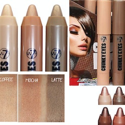 W7 Chunky Jumbo Soft Cream Shimmer Eyeshadow Crayon - Coffee