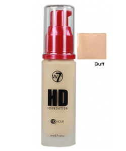 W7 Hight Defition Foundation - Buff 30 ml