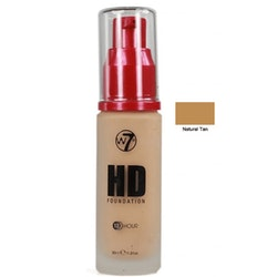 W7 Hight Defition Foundation - Natural Tan