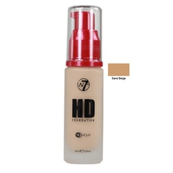 W7 Hight Defition Foundation - Sand Beige