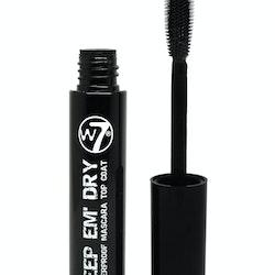 W7 Keep Em' Dry Waterproof Mascara Transparent Top Coat