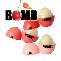W7 Lip Bomb Fruity Flavoured Lip Balm-Pink Cherry