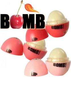 W7 Lip Bomb Fruity Flavoured Lip Balm-Pink Cherry