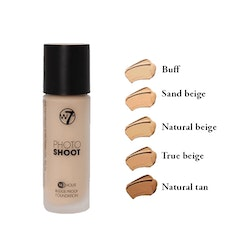 W7 Photoshoot 16HR Glass Foundation-Natural Tan