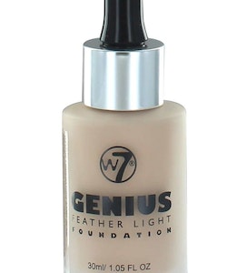 W7 Genius Feather Light Foundation - Natural Beige