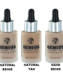 W7 Genius Feather Light Foundation - True Beige