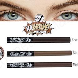 W7KabrowEyebrowThickenerPowder - Medium Brown
