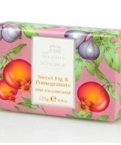 Woods of Windsor English Soap - Sweet Fig & Pomegranate