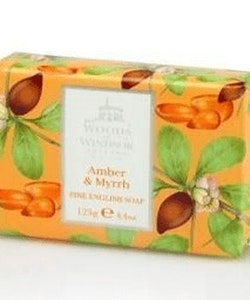 Woods of Windsor Fine English Soap - Amber & Myrrh