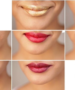 L'Oreal Gold Obsession 24K Guld-Shimmery Lipstick - Pink Gold