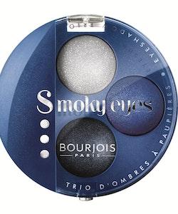 Bourjois Intense Smoky Trio -1 Eyeliner & 2 Eyeshadows Palette-15 Bleu Nuit
