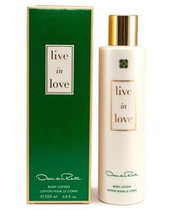 Oscar de la Renta Live In Love Body Lotion
