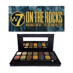 W7 On The Rocks Eye Metallic&Cream Matte Color Palette