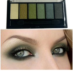 Technic Shimmer Sultry Eyeshadow Kit - Moss