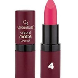 Golden Rose Velvet Matte Lipstick-#04  Dark Pink